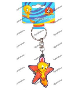Teresa WARNER BROS Looney tunes figurine red star key ring