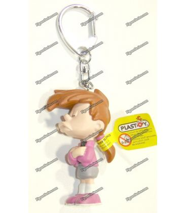 Porte clés TITI figurine WARNER BROS initiale N Looney tunes