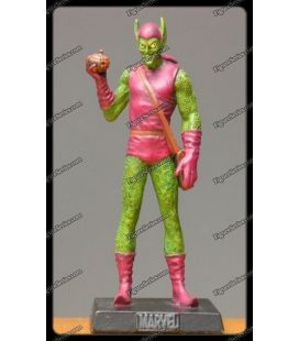 Llevar la figurita de Duende Verde Green Goblin Marvel