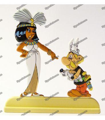 Estatueta levar arquivos DOGMATIX ASTERIX e Cleópatra