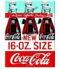 Coca cola 16 OZ magnete metallo