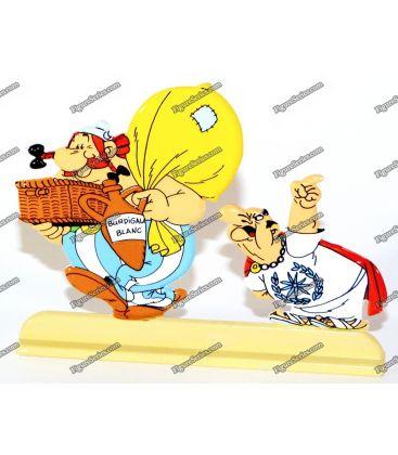Figurine en plomb ASTERIX Le TOUR de GAULE Obelix
