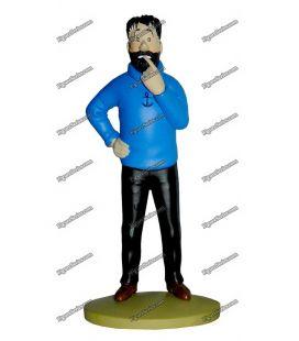 TINTIN figurine en résine le Capitaine HADDOCK par Moulinsart
