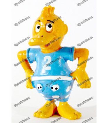 Figurine SCHLEICH DIE DROLLINGE dessin animé vintage les Canards triplés 2