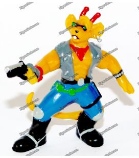 Figurine biker mice of the space BULLY THROTTLE