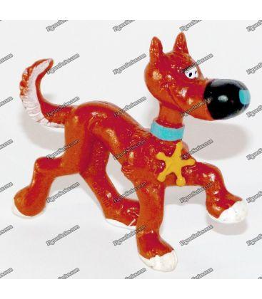 Beeldje RATAPLAN van LUCKY LUKE door SCHLEICH hond