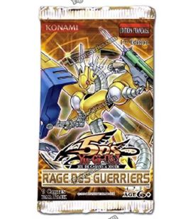 Booster cards YU - GI - OH RAGE warriors package French