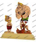 Figurine en plomb ASTERIX aux JEUX OLYMPIQUES