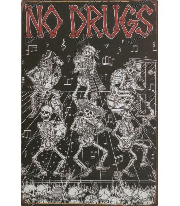 plate No. drugs metal