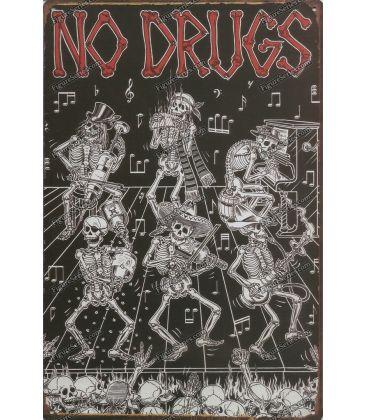 Platte Nr. Drogen Metall