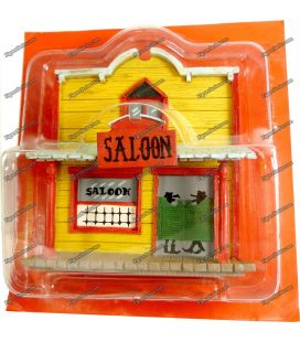 The SALOON House the city of LUCKY LUKE lead PLASTOY bar cow boy