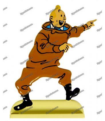 Figurine TINTIN en scaphandre Le Trésor de Rackham le Rouge
