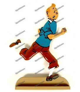 TINTIN figure who runs lead the Castafiore Emerald