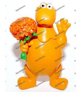 Beeldje CASIMIR boeket van bloemen Flunch izard brunier