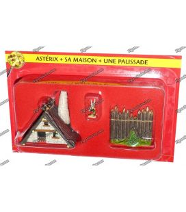 The home of ASTERIX VILLAGE figurine and Palisade 1 PLASTOY