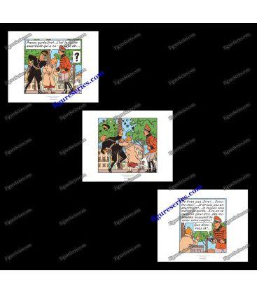 Plaque en métal Les PIEDS NICKELES AS du CONTRE ESPIONNAGE