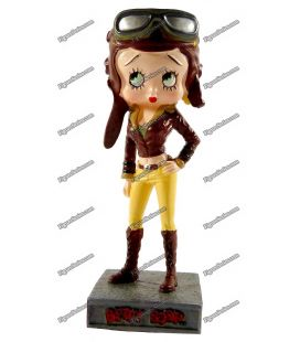 BETTY BOOP aviatrix resin figure
