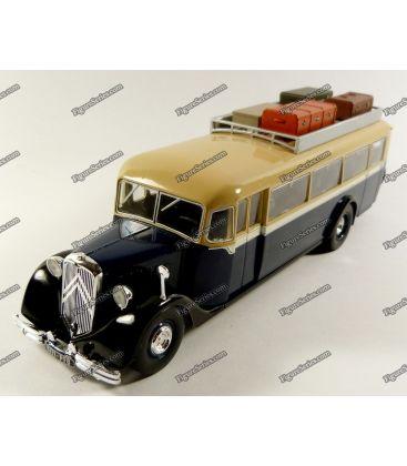 Ônibus treinador o Citroën modelo 45 de 1934 t45