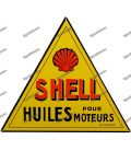 Metal SHELL placa motor aceite antiguo pub