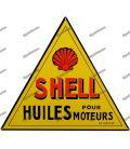 Metal SHELL placa motor óleo velho pub