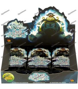 24 Cards WAKFU DOFUS package CHAOS of OGREST booster box