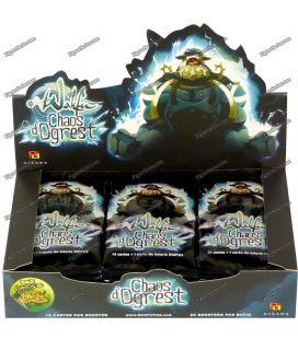 24 Cartões de WAKFU DOFUS pacote caos da caixa de booster OGREST