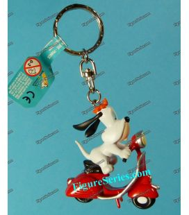 Key door Figurine DROOPY in red VESPA scooter by Demons and Wonders
