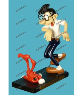 Figurine resin GASTON LAGAFFE Plastoy Apple
