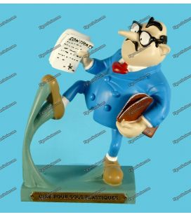 Figurine resin GASTON LAGAFFE Plastoy Mr Mason