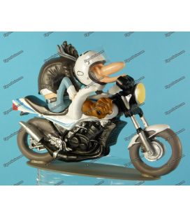 Figurine en résine Joe Bar Team moto YAMAHA 350 RDLC