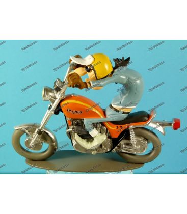 Moto en résine figurine Joe Bar Team KAWASAKI 900 Ninja 1985