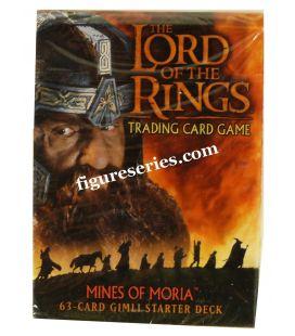 Cubierta de Señor de las anillos las minas de MORIA, GIMLI