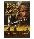 Cubierta de Señor de los anillos la dos torres de ARAGORN