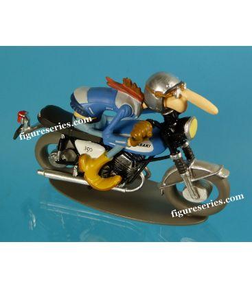 Figurine en résine Joe Bar Team KAWASAKI 350 Avenger