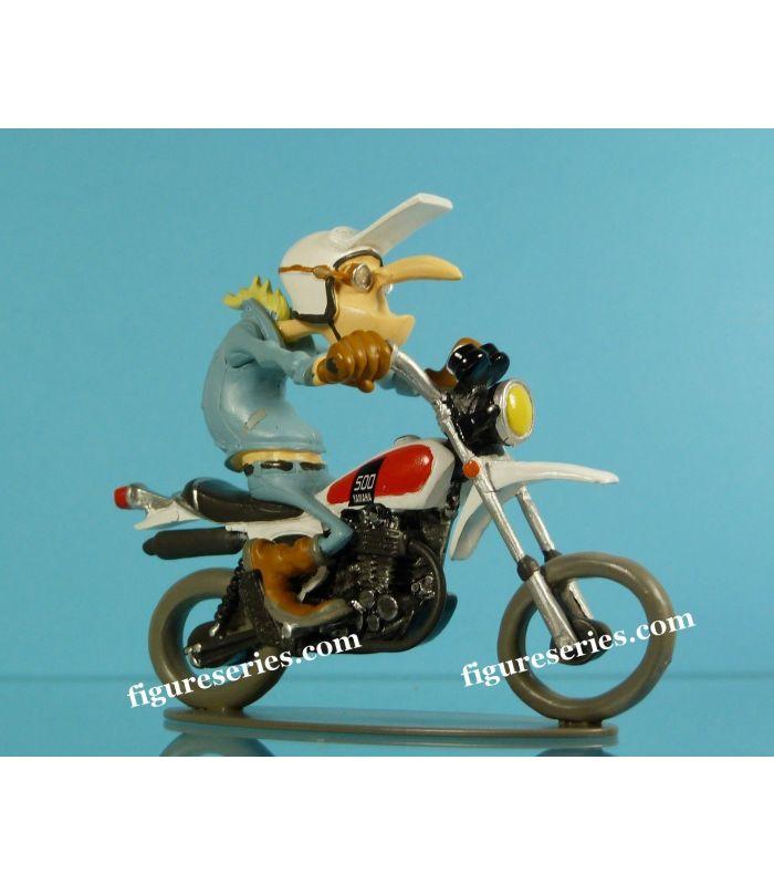 moto en resine joe bar team plomb demons et merveilles figurine japonaise yamaha 500 xt trail. Black Bedroom Furniture Sets. Home Design Ideas