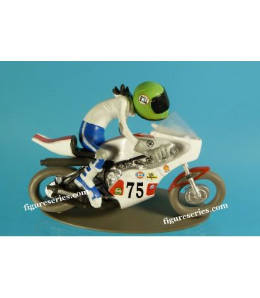 Figurine en résine Joe Bar Team YAMAHA 750 OW 31