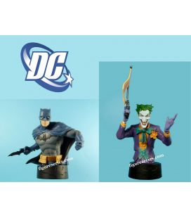 Lot 2 bustes en résine BATMAN et le JOKER figurines DC Comics