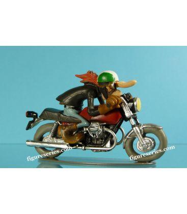 Figurine en résine Joe Bar Team MOTO GUZZI V7 sport