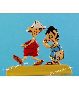 The 12 works of ASTERIX metal figurine