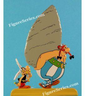 Astérix y Obélix la figurita de metal clásico