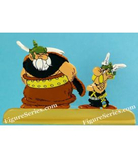 ASTERIX and the GOTHS COUDETRIC metal figurine
