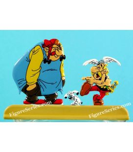 Figurine de metal do rapper ASTERIX OBELIX