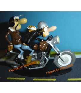 Commando de resina Joe Bar Team Norton 850 em miniatura
