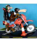YAMAHA 600 XT Motorrad Schul-Joe Bar team