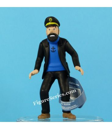 le CAPITAINE HADDOCK surpris figurine Moulinsart