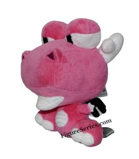 Drago peluche animali domestici DOFUS rosa Dragona