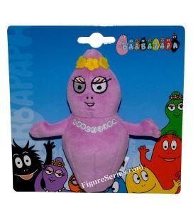 BARBAPAPA peluche Barbabébé fille violette BARBABELLE
