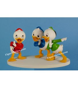 Figurine resin RIRI FIFI LOULOU meannig DONALD