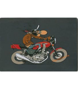JOE BAR TEAM Edouard Bracame HONDA cbx oven metal sign