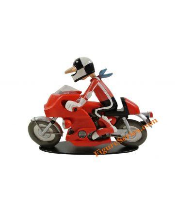 Joe Bar Team HONDA Japauto 1000 Bol d'Or figurine résine moto